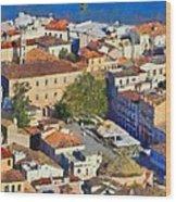 City Of Nafplio Wood Print
