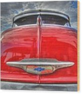 Classic Chevy Wood Print