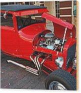 Classic Custom Hotrod Wood Print