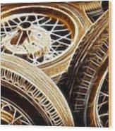 Classic Wheels Wood Print
