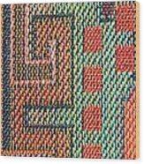 Cloth Pattern Wood Print