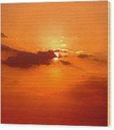 Cloudscape Wood Print