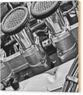 Cobra Engine Wood Print