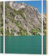 Colchuck Lake, Alpine Lakes Wilderness Wood Print