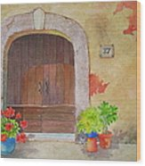 Color Me Tuscany Wood Print