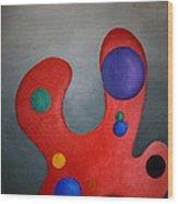Color Pallette Wood Print