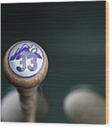 Colorado Rockies V. San Francisco Giants 2 Wood Print