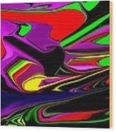 Colorful 3d Wood Print