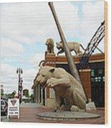 Comerica Park - Detroit Tigers Wood Print