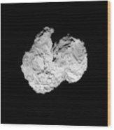 Comet Churyumov-gerasimenko Wood Print