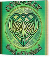 Connolly Soul Of Ireland Wood Print
