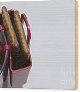 Cookie Bag Wood Print