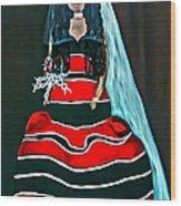Cordillera Bride Wood Print