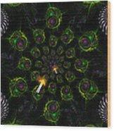 Cosmic Embryos Wood Print