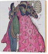 Costume Design For The Ballet La Wood Print