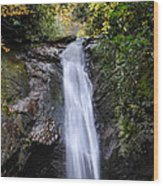 Courthouse Falls Wood Print