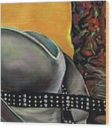 Cowgirl Necessities Wood Print