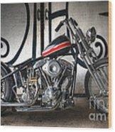 Custom Bike  Wood Print