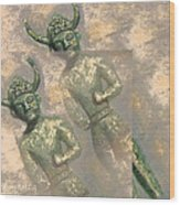 Cyprus Gods Of Trade. Wood Print
