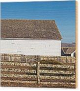Dairy Buildings At Historic Pierce Wood Print