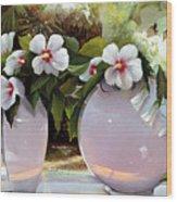 Davanti Alla Finestra Wood Print