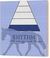 Define Rhythm Wood Print