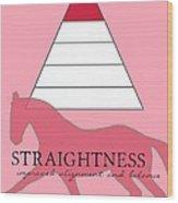 Define Straightness Wood Print