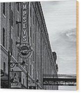 Dempseys Brew Pub Wood Print