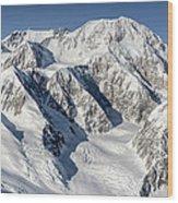 Denali - Mount Mckinley Wood Print