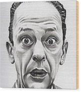 Deputy Barney Fife Wood Print