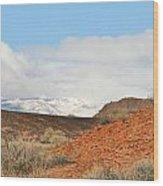 Desert Delight Wood Print