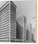 Detroit General Motors Wood Print