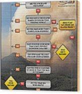 Diagnosing Wildland Firefighter Disease Wood Print