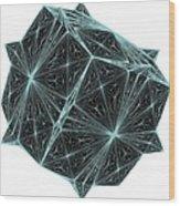 Diamond Crystal  Wood Print
