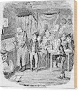 Dickens Oliver Twist Wood Print