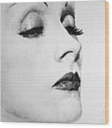Dietrich Wood Print