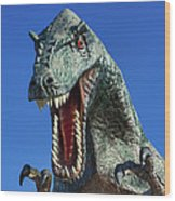 Dinosaur Wood Print