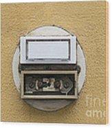 Doorbells Wood Print