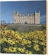 Drumlanrig Castle Wood Print
