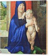 Durer's Madonna And Child Wood Print