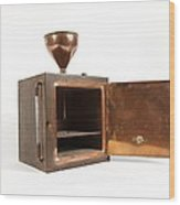 Early 20th Century Copper Steriliser Wood Print by Science Photo Library