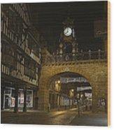 Eastgate Clock Wood Print