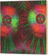 Edta Crystals Wood Print