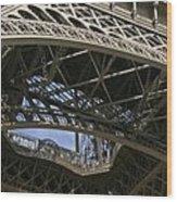 Eiffel Tower Wood Print