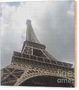 Eiffel Tower  Wood Print by Tashia  Summers