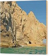 El Arco De Cabo San Lucas Wood Print