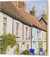 English Cottages Wood Print