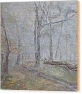 Epping Mist Wood Print