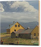 Eyjafjallaj�kull Ash Cloud, Iceland Wood Print