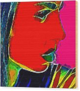 Facets Of Beauty Wood Print